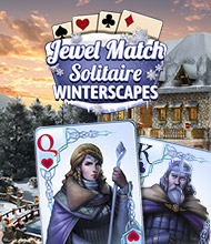 Solitaire-Spiel: Jewel Match Solitaire Winterscapes