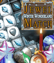 3-Gewinnt-Spiel: Jewel Match Winteredition