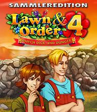Klick-Management-Spiel: Lawn & Order 4: Durch Dick und Dünger Sammleredition