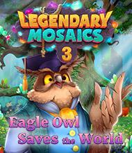 Logik-Spiel: Legendary Mosaics 3: Eagle Owl Saves the World