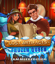 Klick-Management-Spiel: Lost Artifacts: Frozen Queen Sammleredition