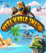 Action-Spiel: Mega World Smash