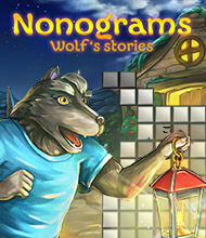 Logik-Spiel: Nonograms: Wolf's Stories