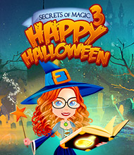3-Gewinnt-Spiel: Secrets of Magic 3: Happy Halloween