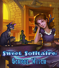 Solitaire-Spiel: Sweet Solitaire: School Witch