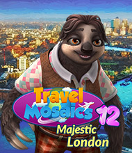 Logik-Spiel: Travel Mosaics 12: Majestic London