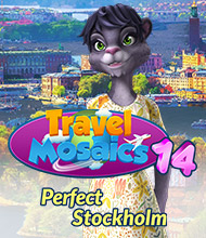 Logik-Spiel: Travel Mosaics 14: Perfect Stockholm