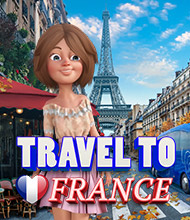 Wimmelbild-Spiel: Travel to France