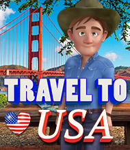 Wimmelbild-Spiel: Travel to USA