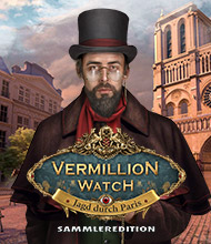 Wimmelbild-Spiel: Vermillion Watch: Jagd durch Paris Sammleredition