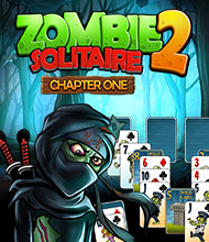 Solitaire-Spiel: Zombie Solitaire 2: Chapter One