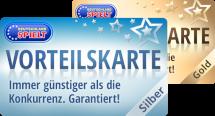 Die Vorteilskarte Silber und die Vorteilskarte Gold von Deutschland Spielt ermöglicht günstigere Preise, schnelleren Zugriff auf die angebotenen PC Spiele und jede Menge Freispiele